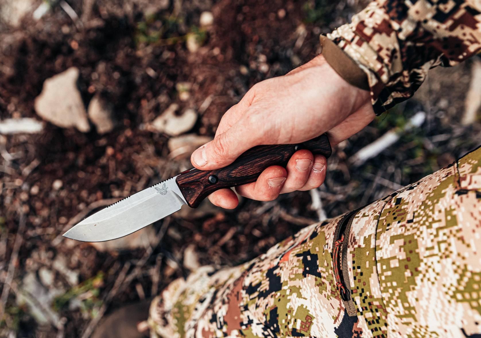 Benchmade Hunting Knife