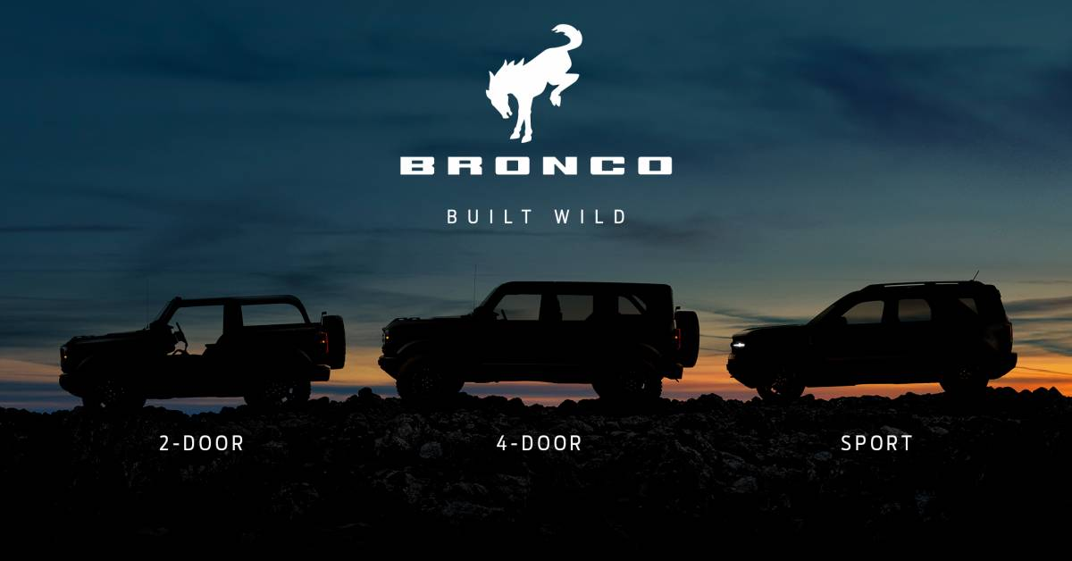 Ford Bronco Will Be Its Own Brand to Rival Jeep | GearJunkie