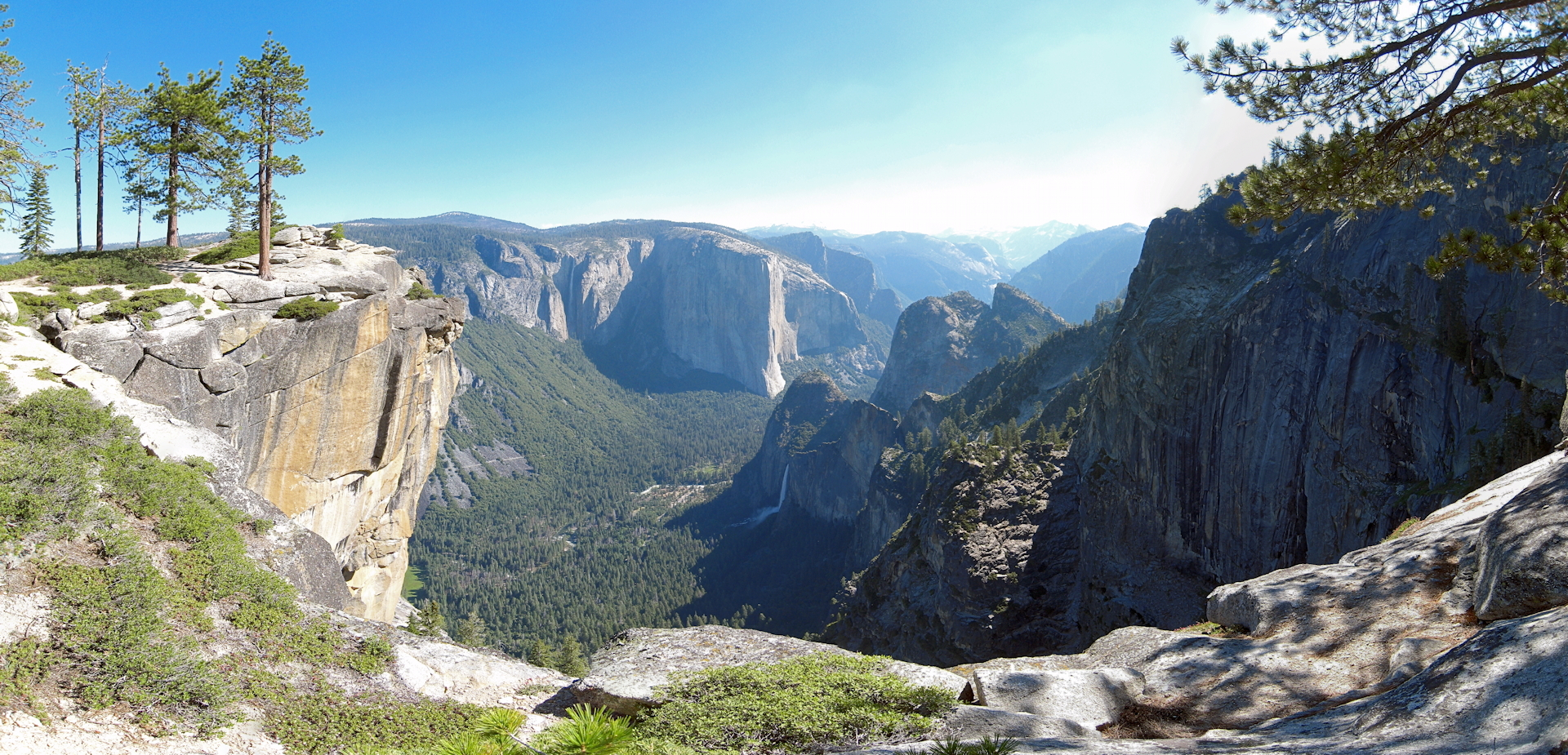 View from Crocker Point Yosemite Best Hikes