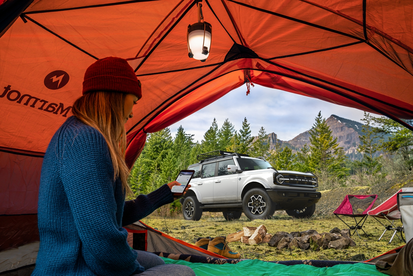 Ford Bronco Camping