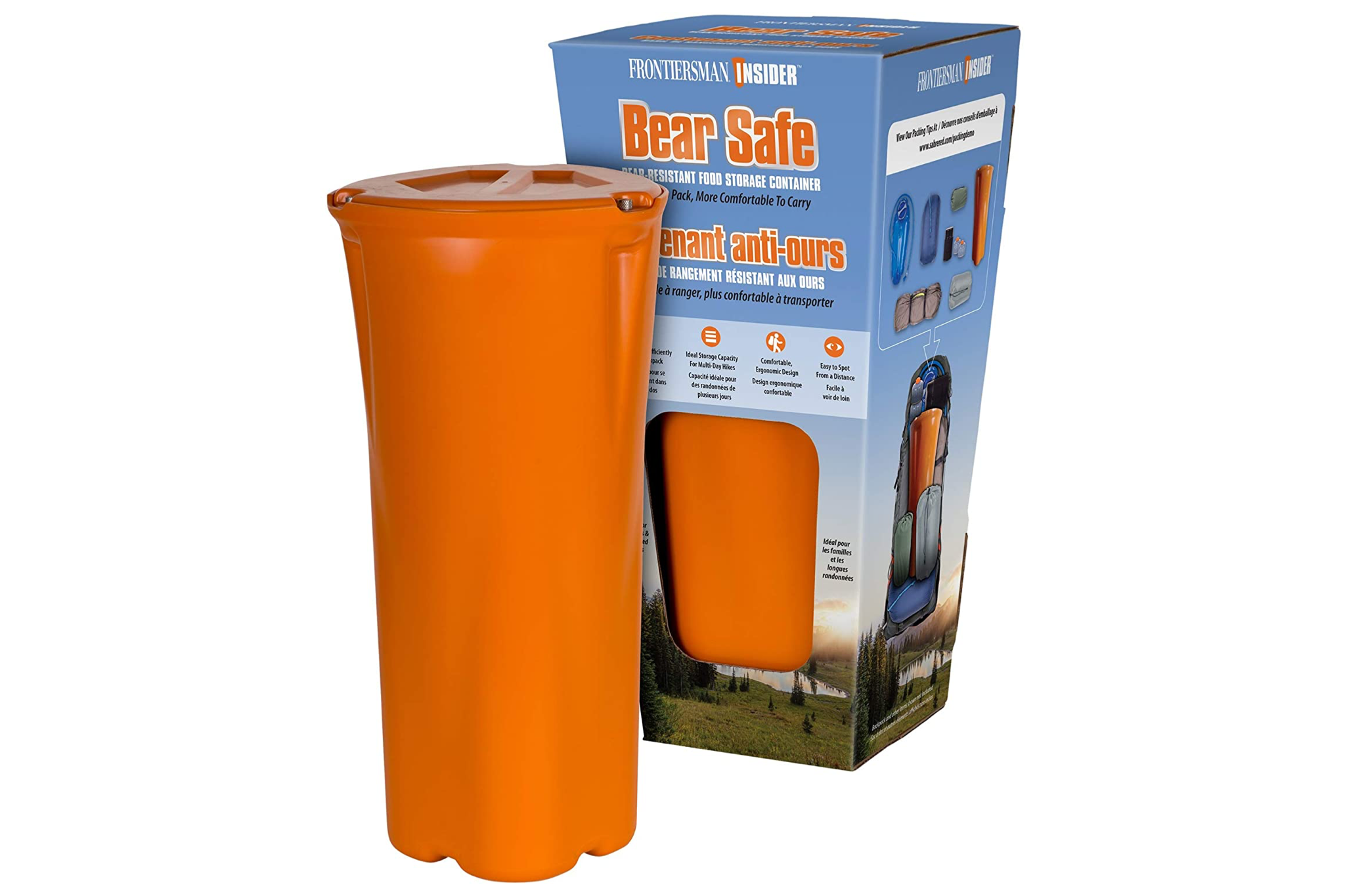 sabre bear canister