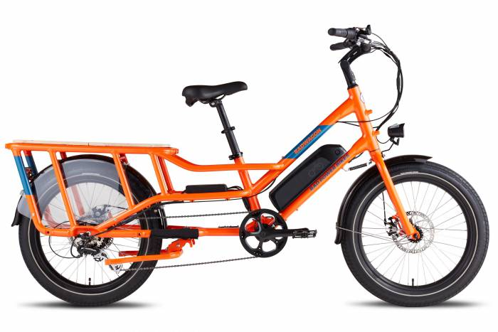 Best Electric Cargo Bikes - The RadWagon4