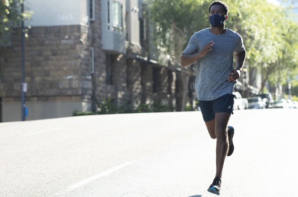 ASICS Launches Hydration-Friendly Running Mask That Cools the Air You Breathe