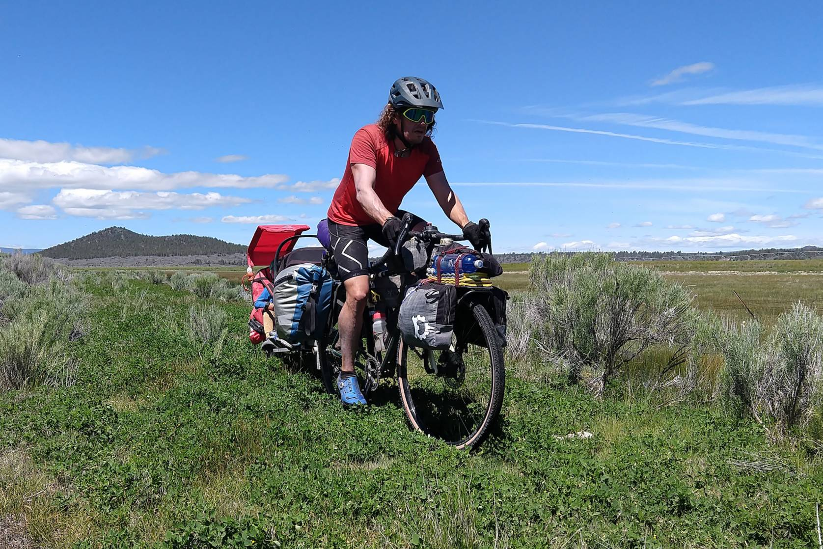 Bikepacking with Kids in Oregon