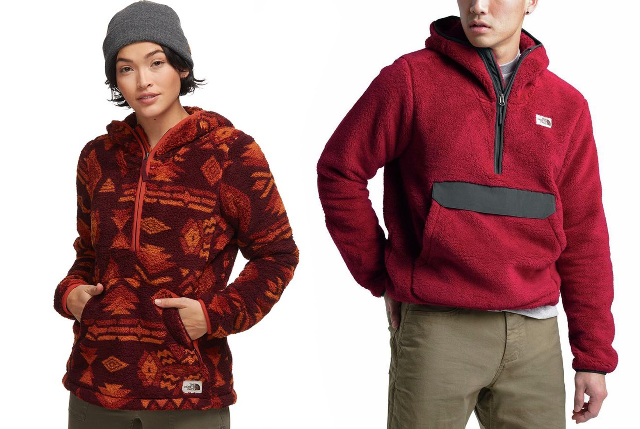 The North Face campshire fleece hoody