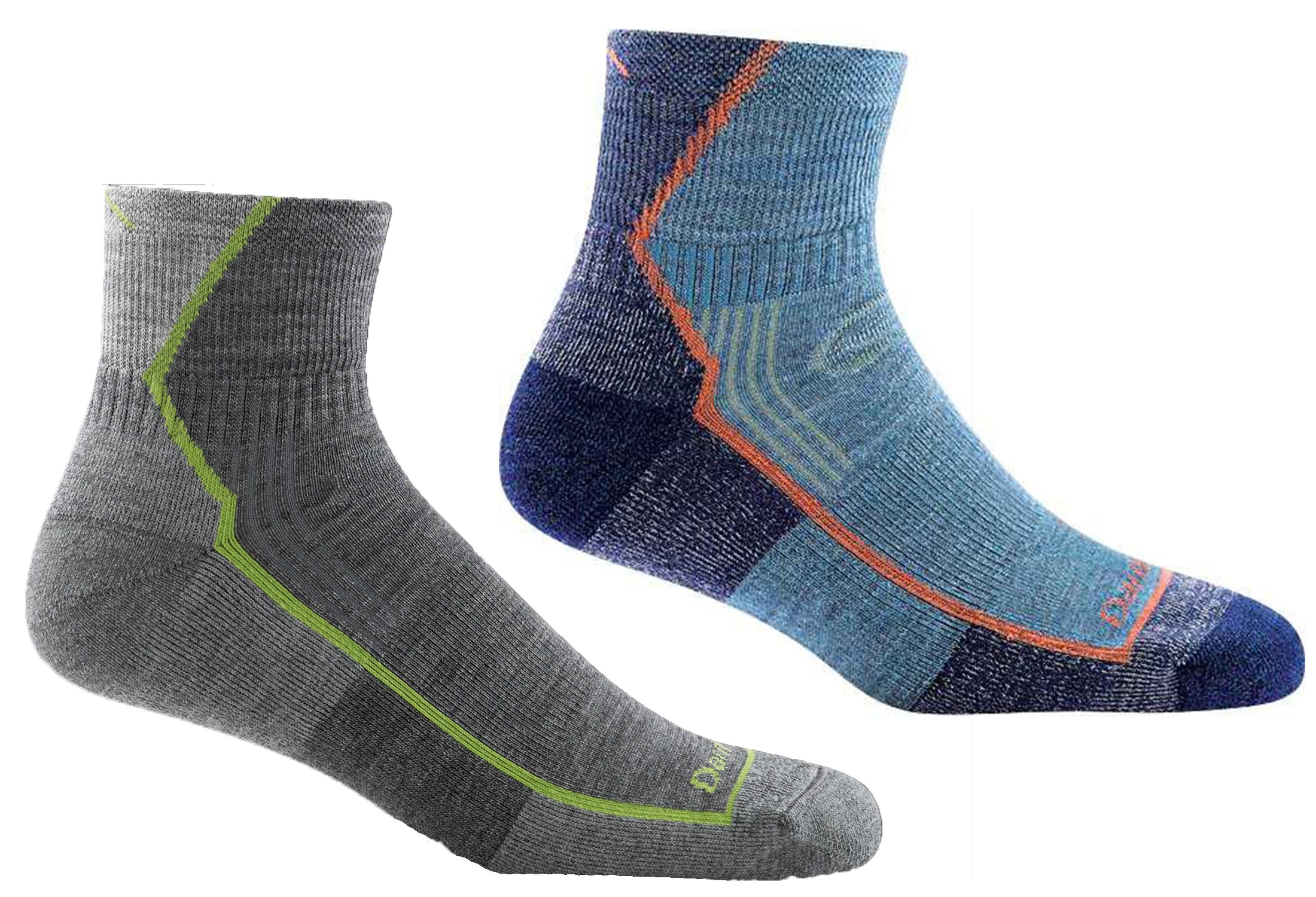 darn tough quarter socks