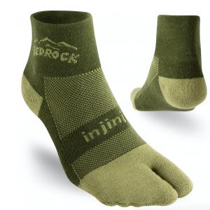 Injinji x Bedrock Performance Split-Toe Socks