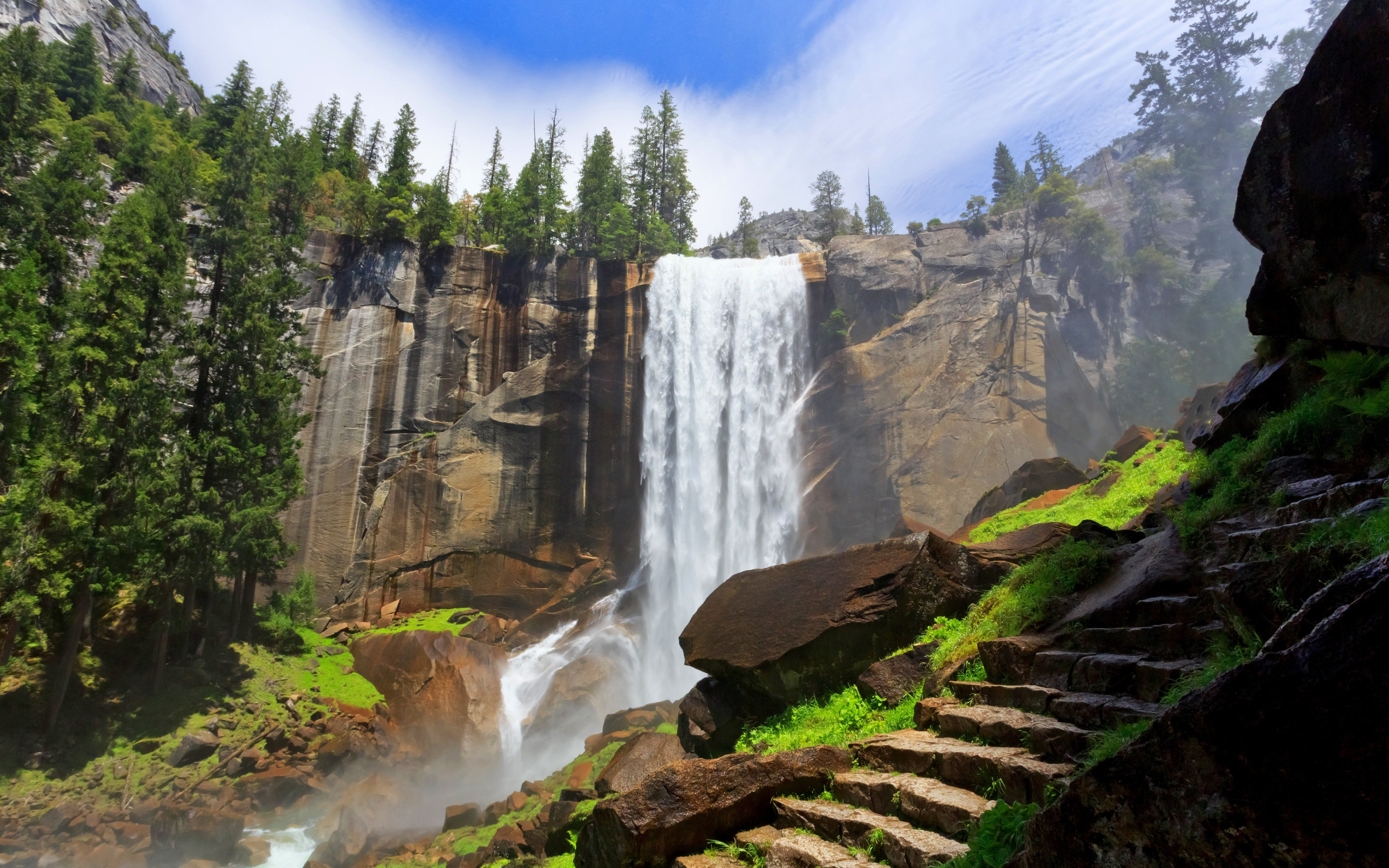 Vernal Falls Yosemite Best Hikes