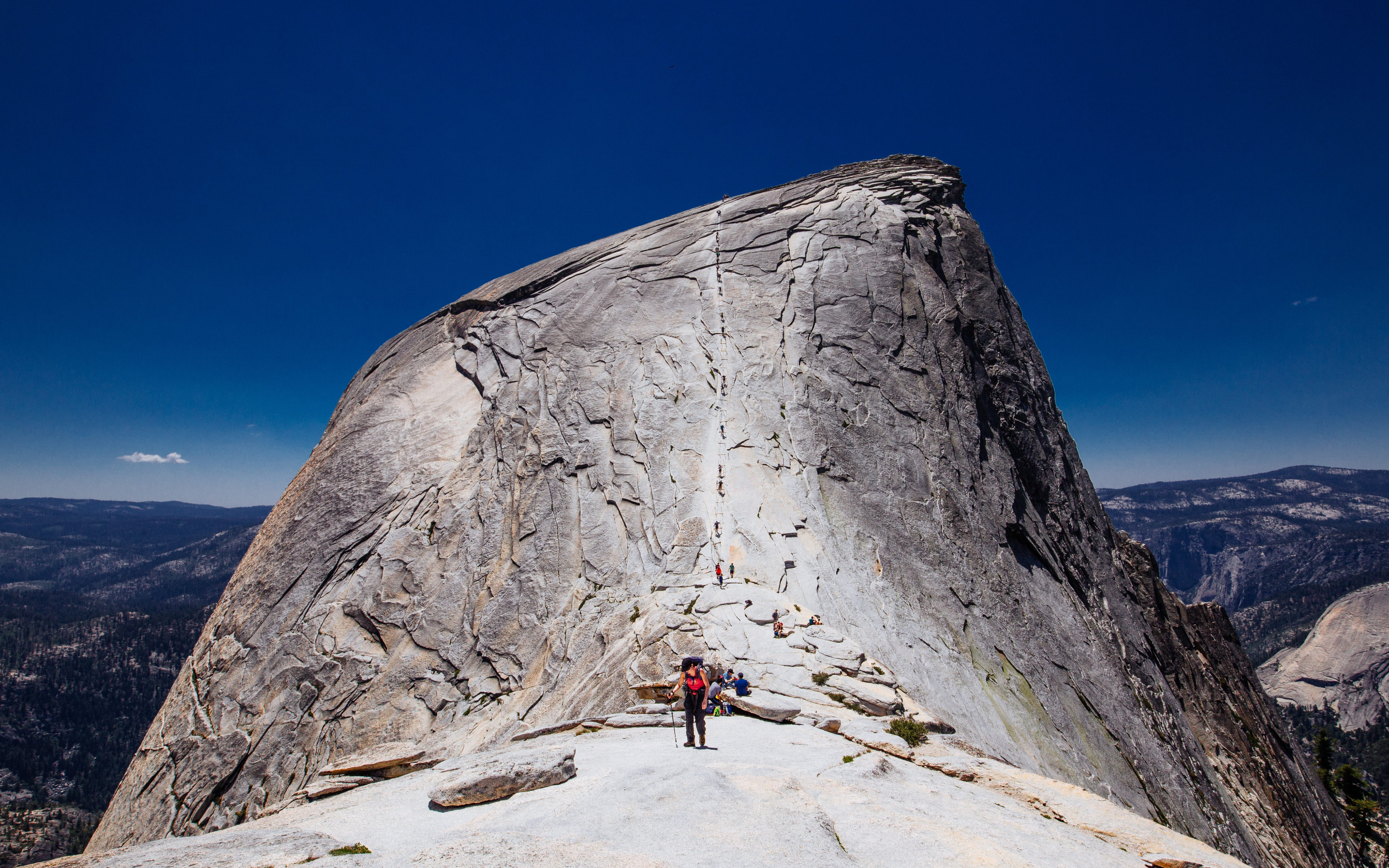 Half Dome Cables Yosemite Best Hikes