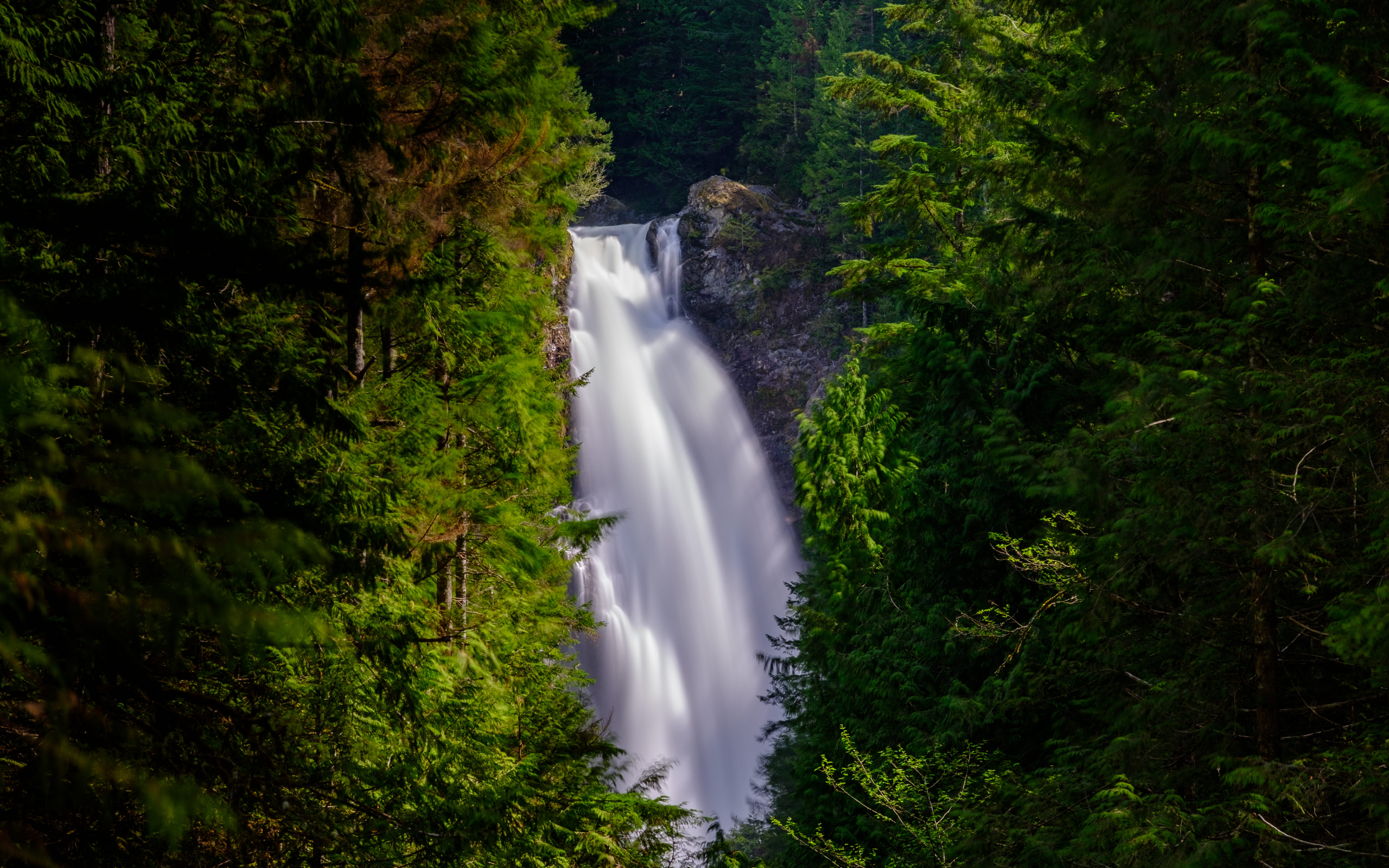 Wallace Falls hike near Seattle