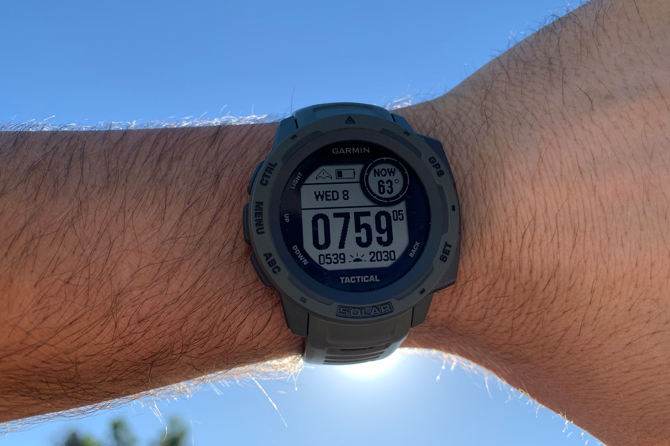 Garmin Instinct Solar Tactical Edition smartwatch