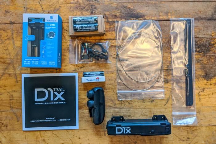 Archer D1x parts