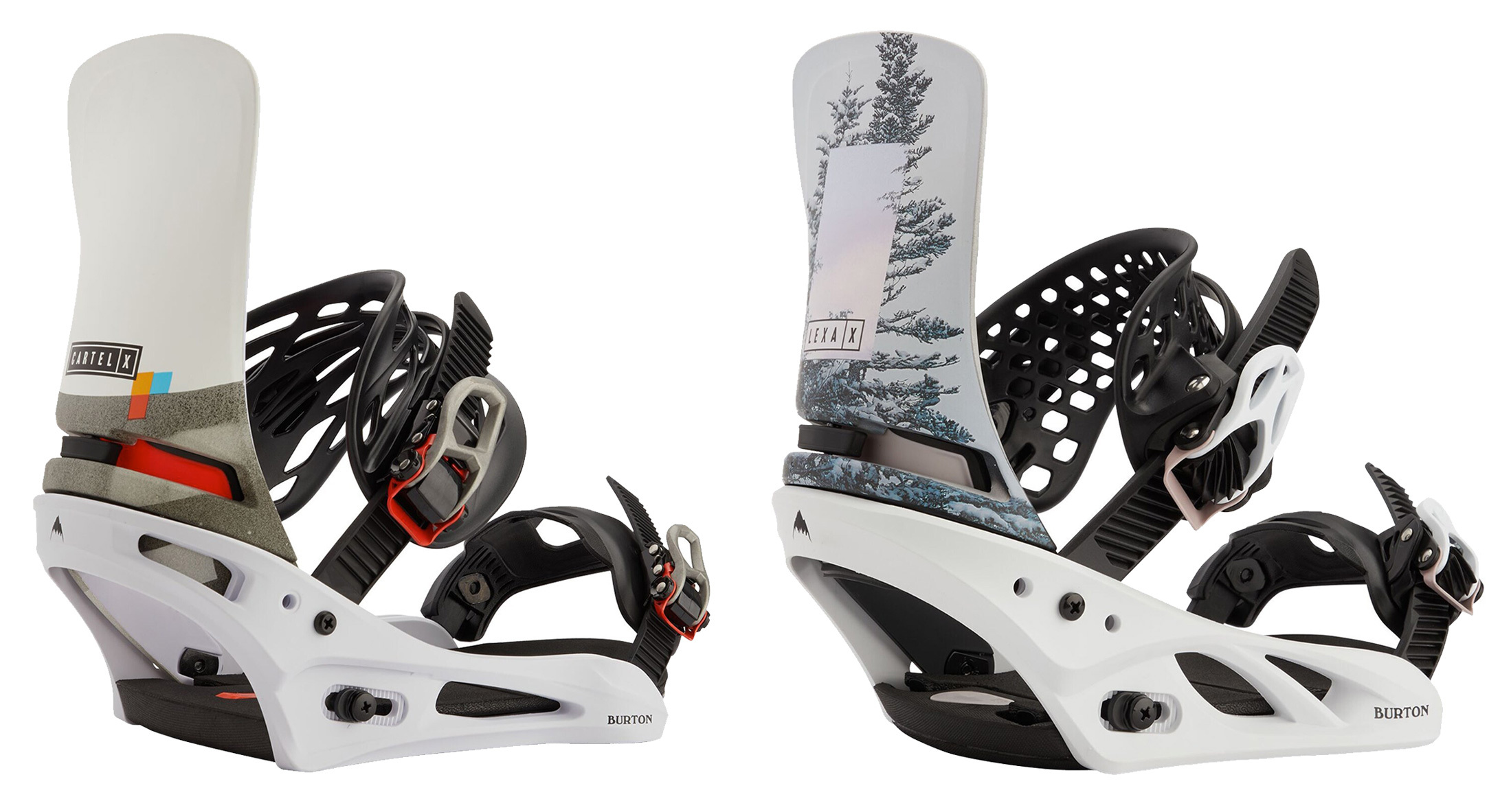 Burton Cartel and Lexa Snowboard Bindings