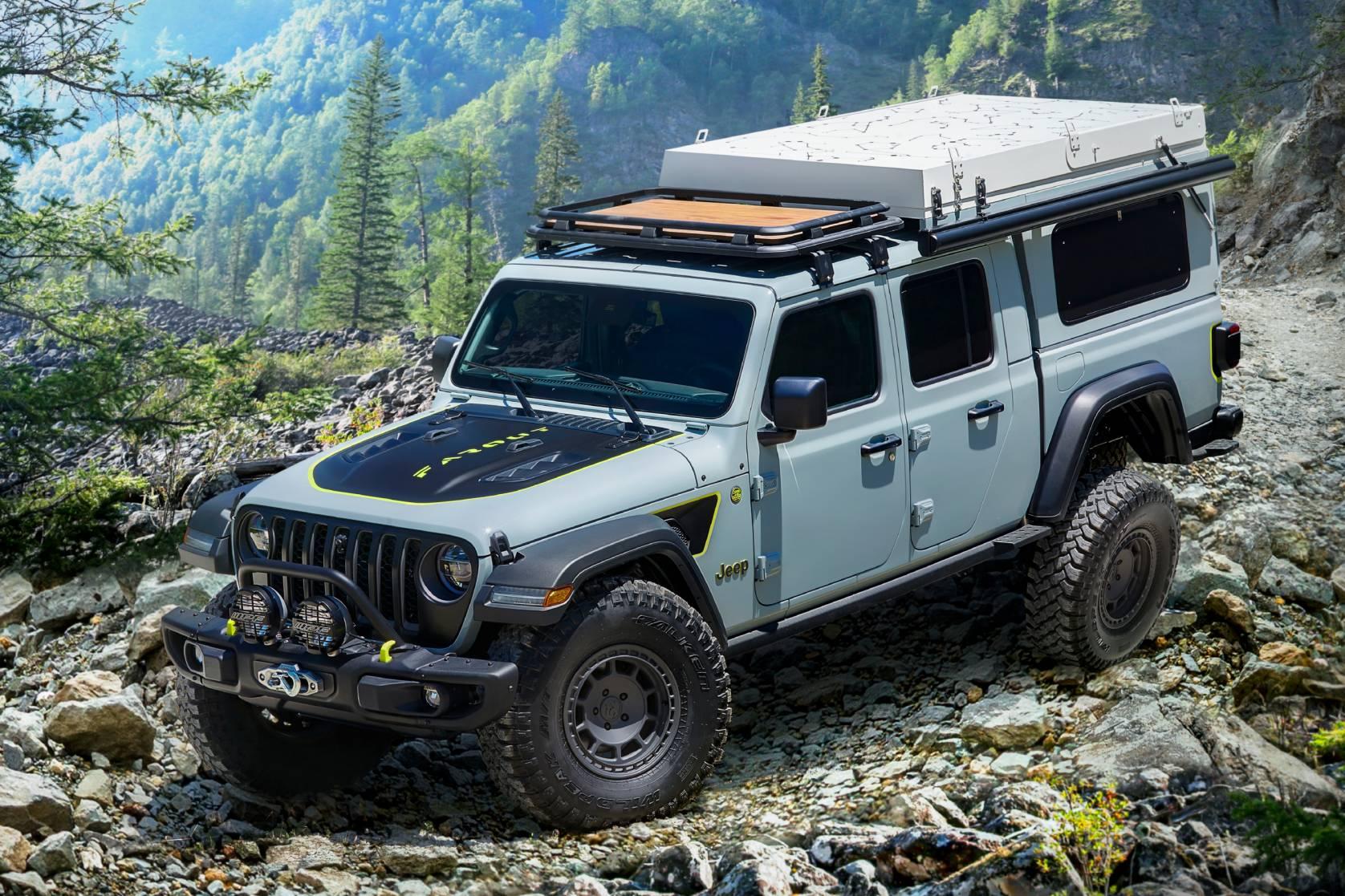 Jeep Gladiator Farout concept truck