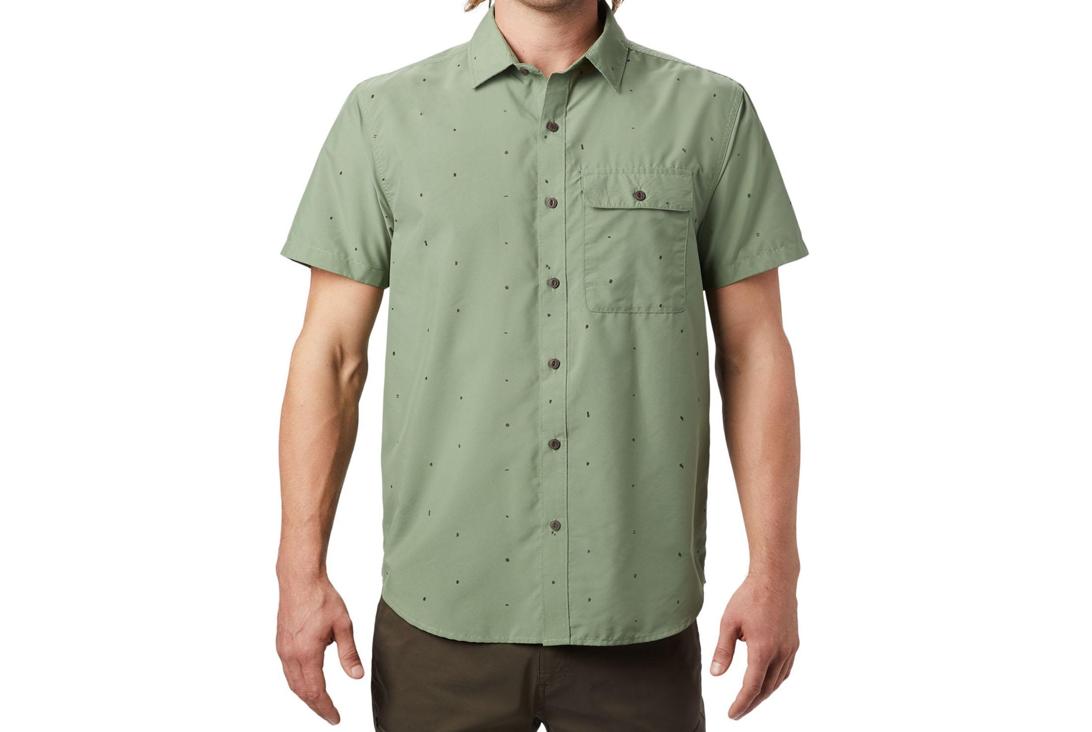 Mountain Hardwear Greenstone Short Sleeve Shirt