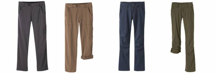 Prana Stretch Zion & Halle Pants