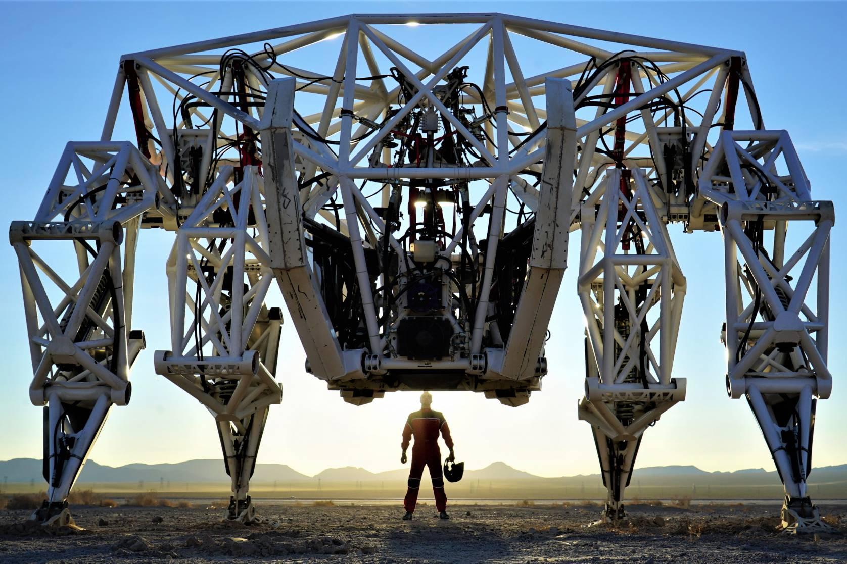 Prothesis mech robot
