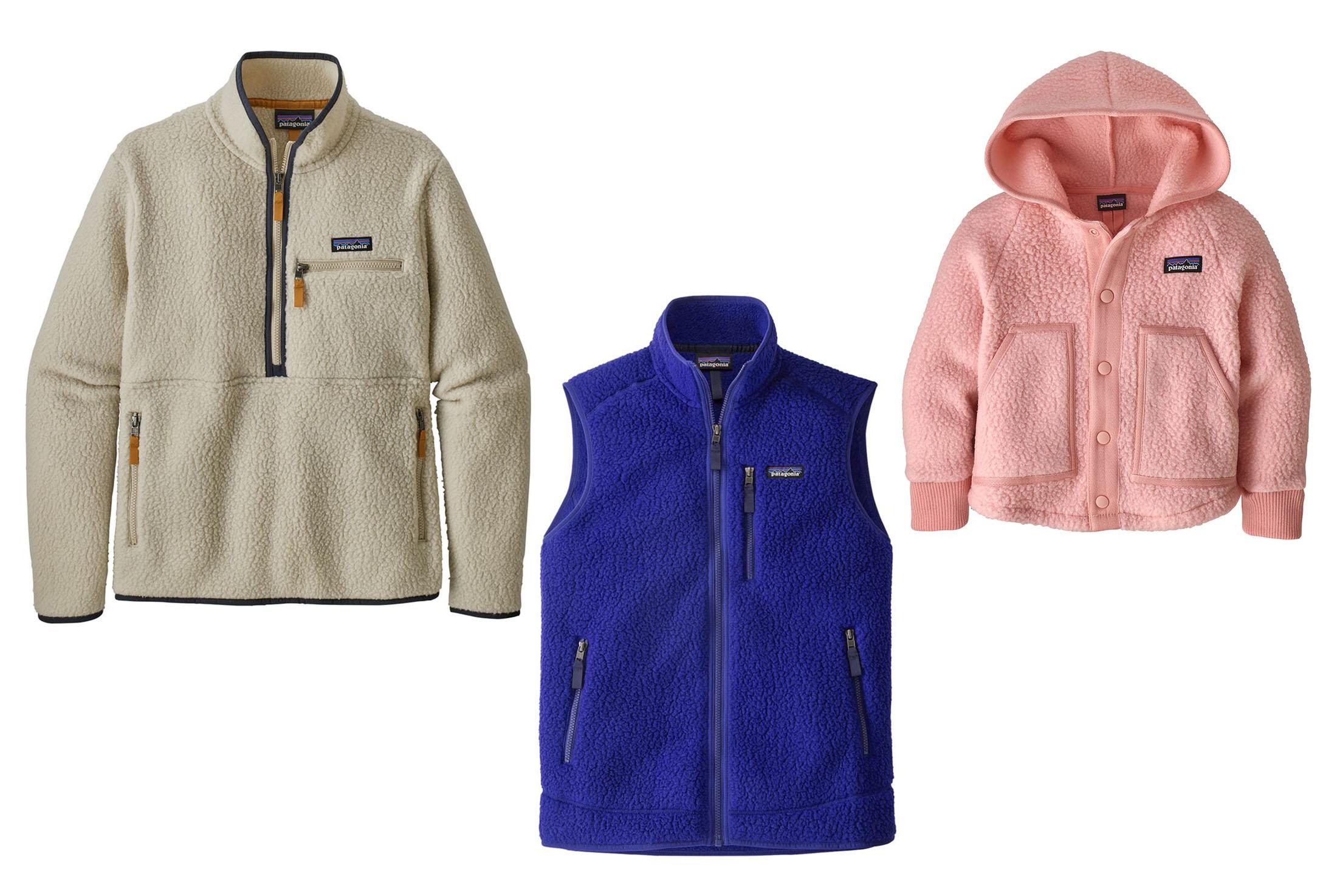 Assorted Patagonia Fleece Jackets