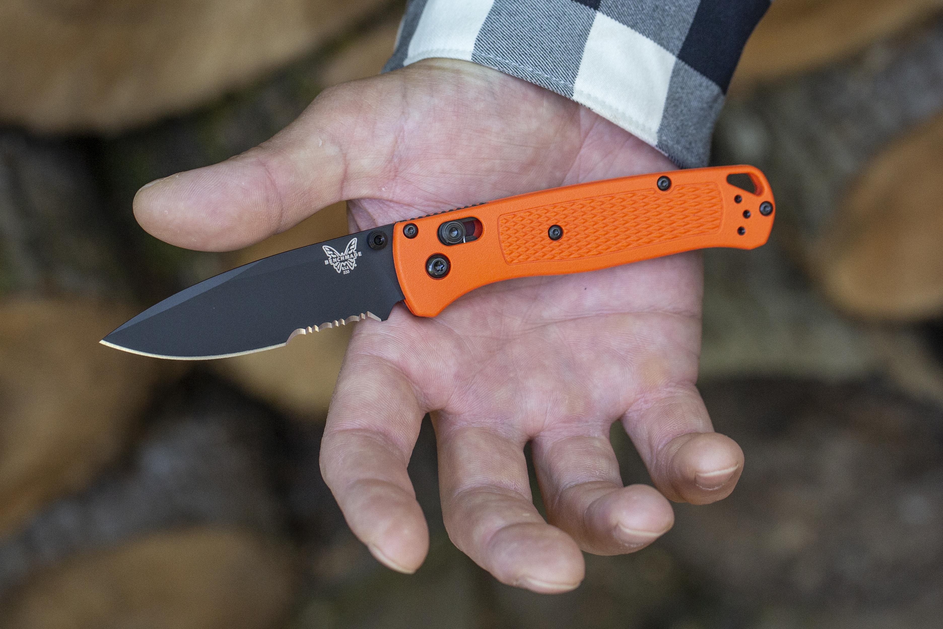 bechmade bugout custom knife