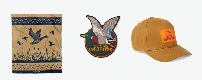 Filson x Ducks Unlimited Collaboration