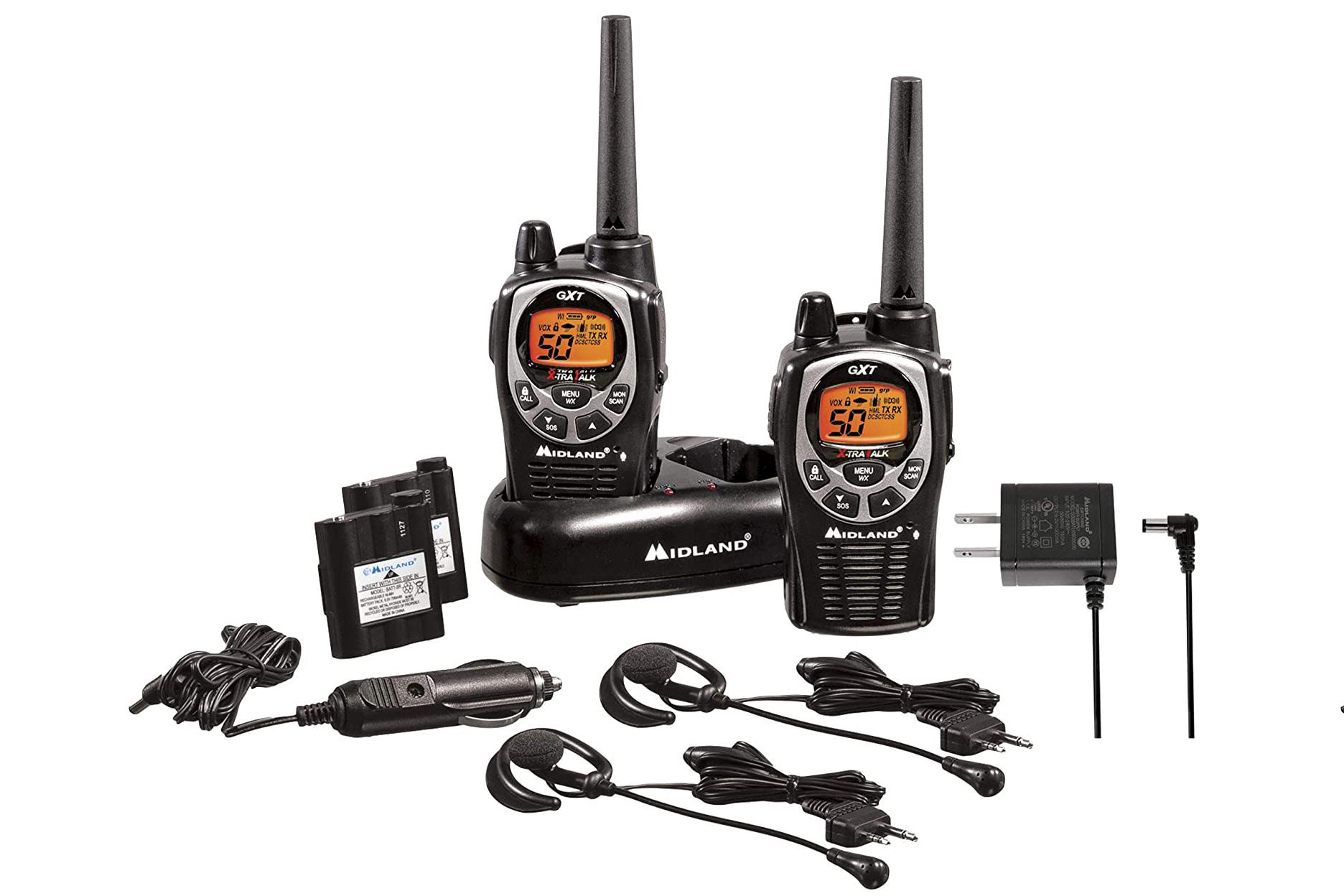 immersible walkie talkie