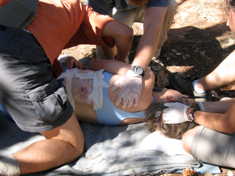 Hunting First Aid: Common Injuries and What to Do, From NOLS Experts