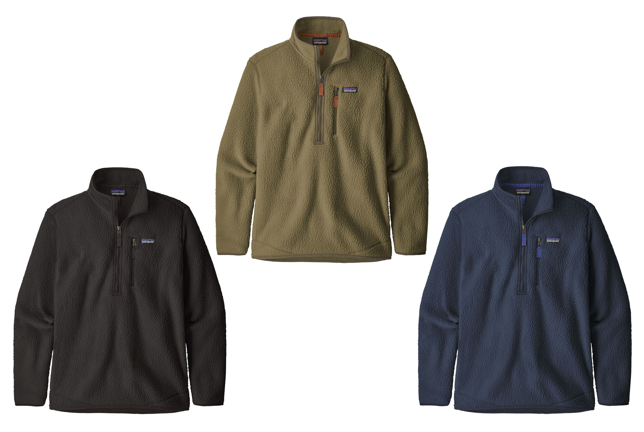 Men's Patagonia Retro Pile Pullover Jackets