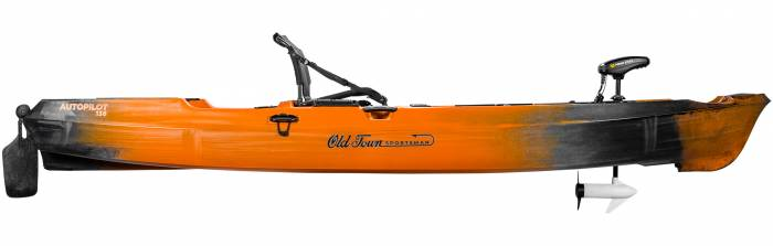 Test du kayak de pêche avec pilote automatique Old Town Sportsman