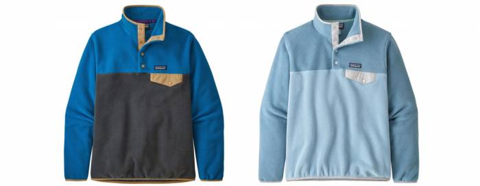 patagonia synchilla lightweight snap t fleece pullover sale