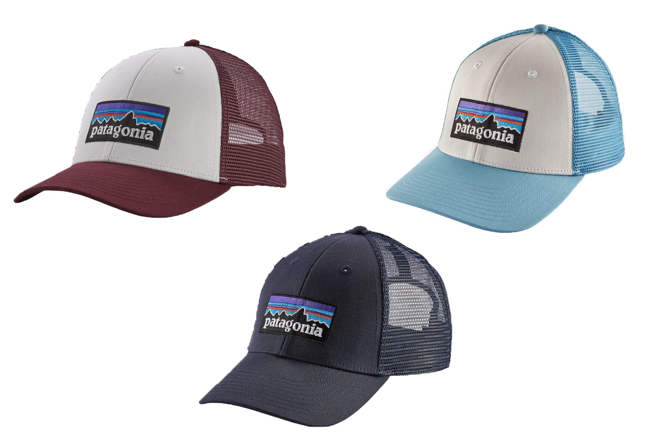 3 patagonia hats