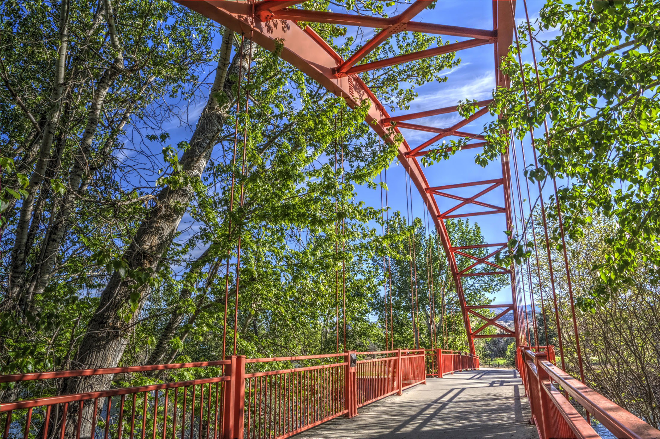 Bridge on Boise River Greenbelt