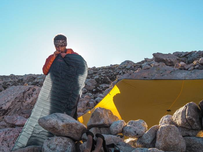 The Grand Teton Therm-a-Rest Sleeping Pad