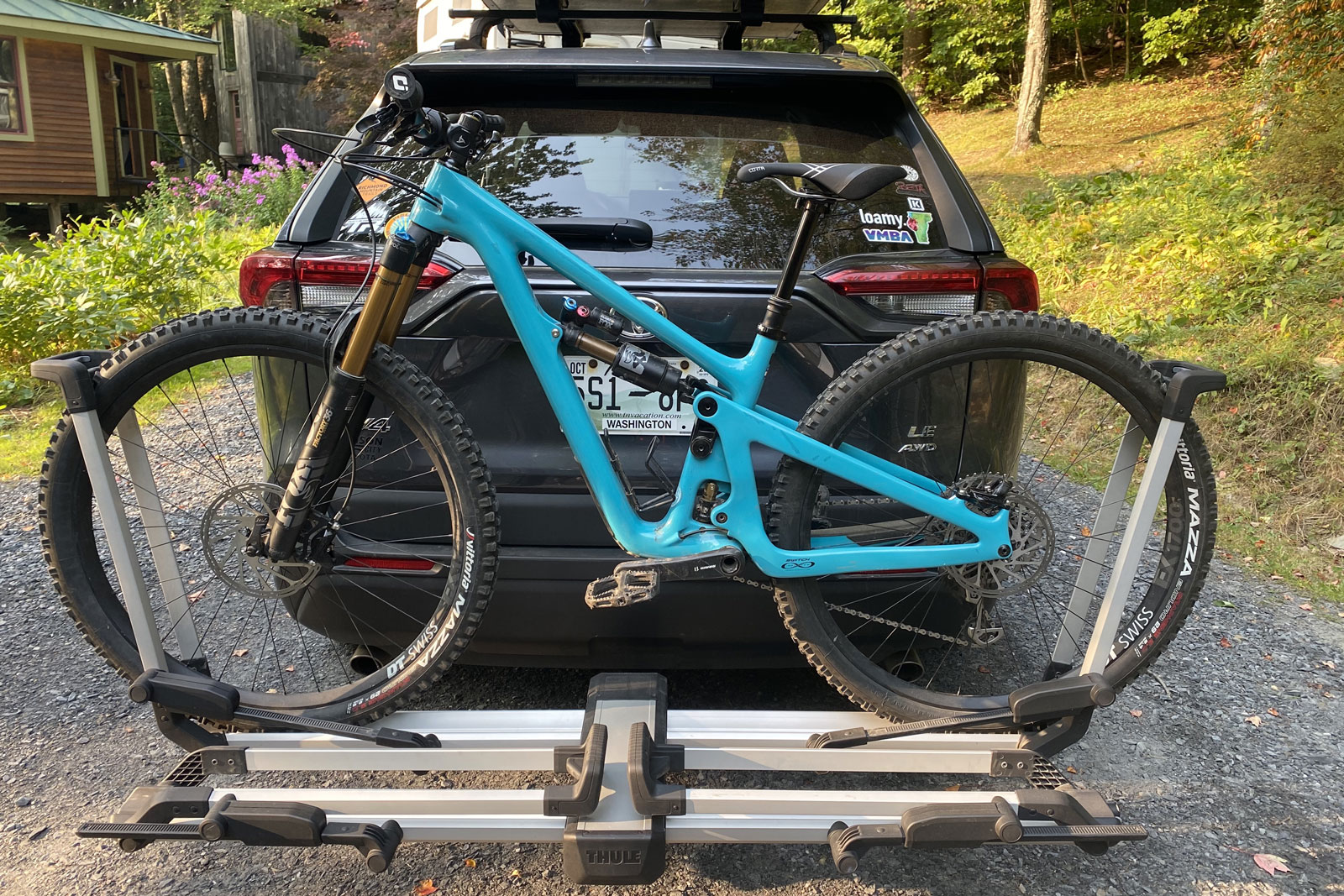 bike rack hitch platform racks thule helium truck lightweight competition gearjunkie 1up aims
