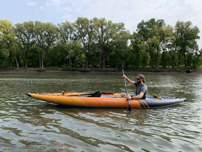 Kayak gonflable tandem Aquaglide Deschutes 145