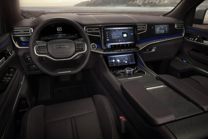 Grand Wagoneer Concept interior