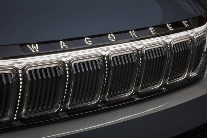 Grand Wagoneer Concept grille
