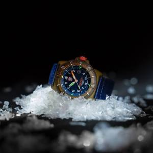 Luminox's Bear Grylls Survival Watch, Made From Recycled Ocean Material