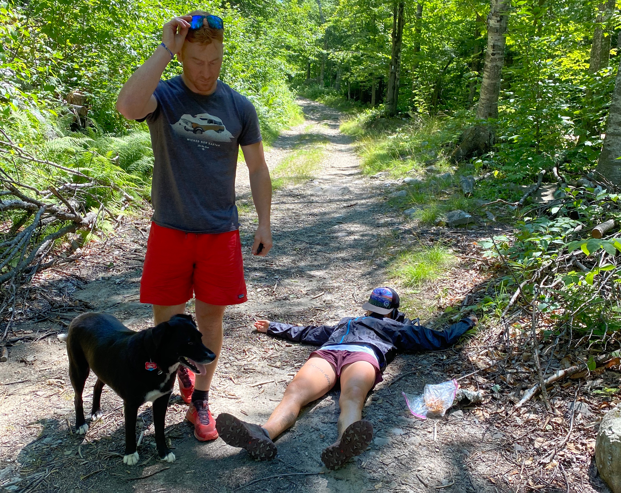 support crew trail race nap