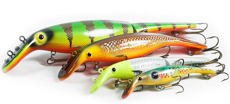 Top Lures for Musky Fishing: Drifter Tackle Jointed Believer