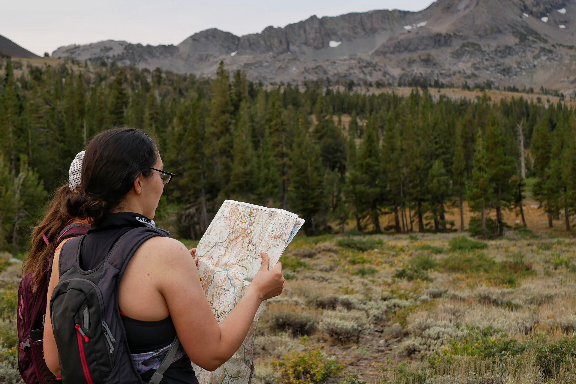 how to read a topo map