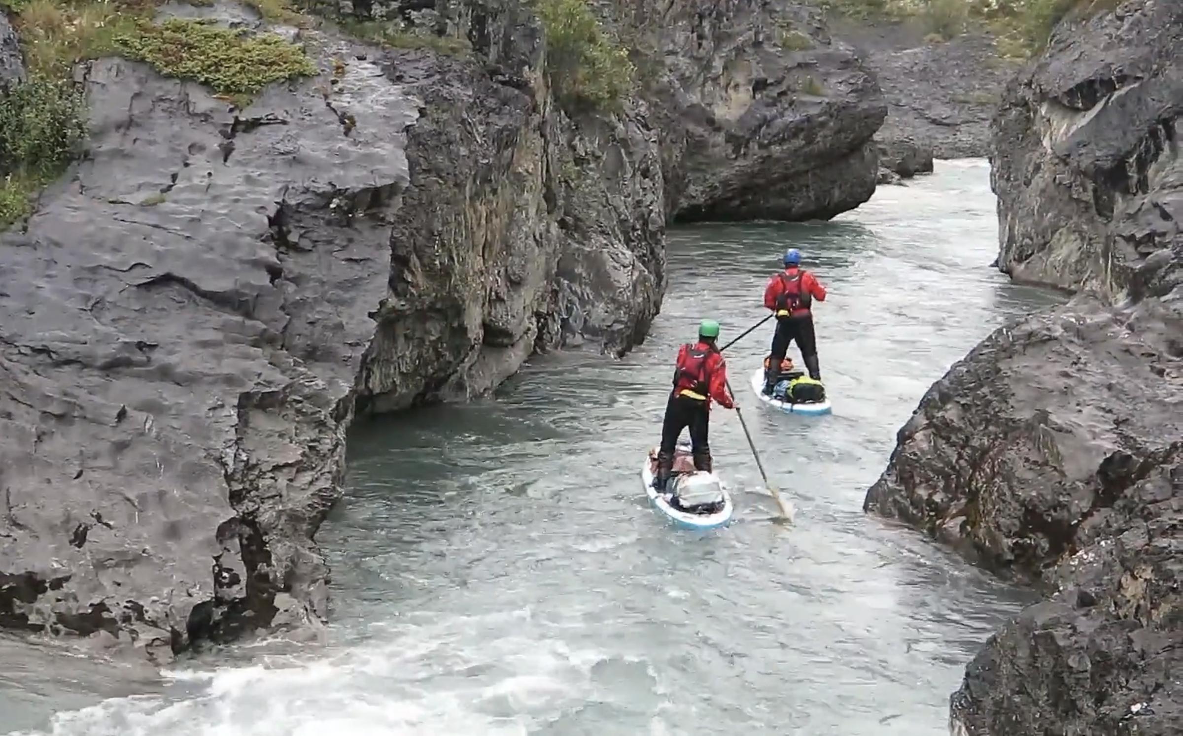 mountain river whitewater
