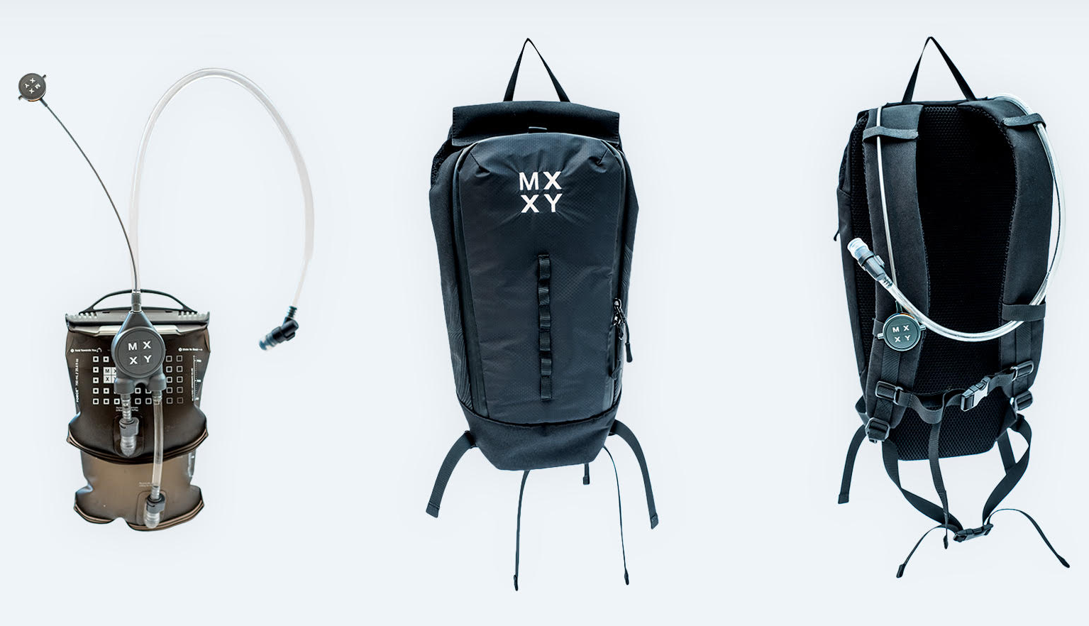 MXXY hydration system and pack