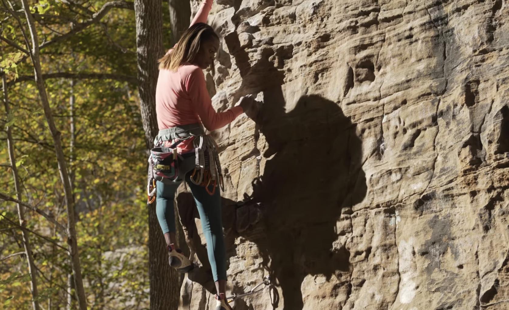 sabrina chapman climbing