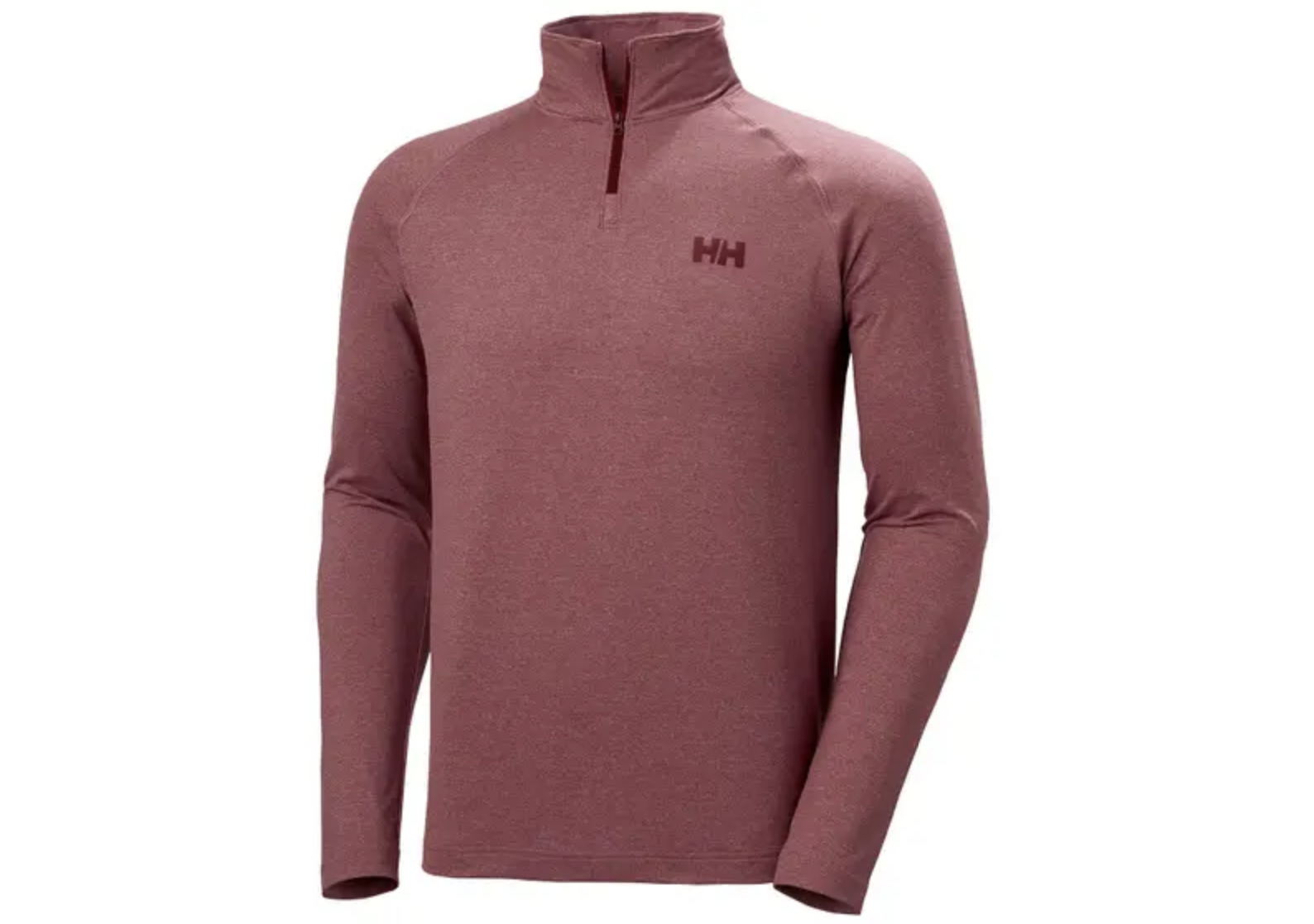 verglas men's 1/2 zip long sleeve