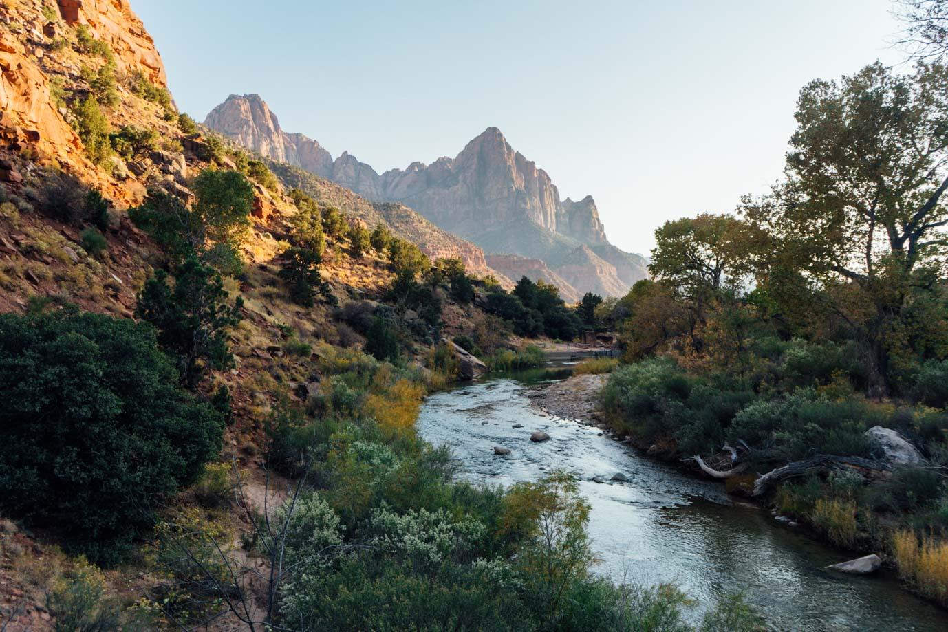 Zion Np Pa'rus trail