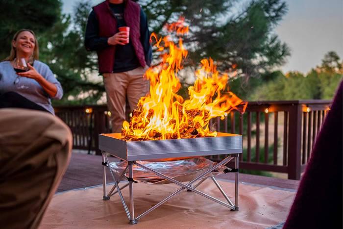 Fireside Outdoor Pop-up Firepit