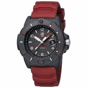 Luminox Black and Red Navy SEAL 3615 Watch