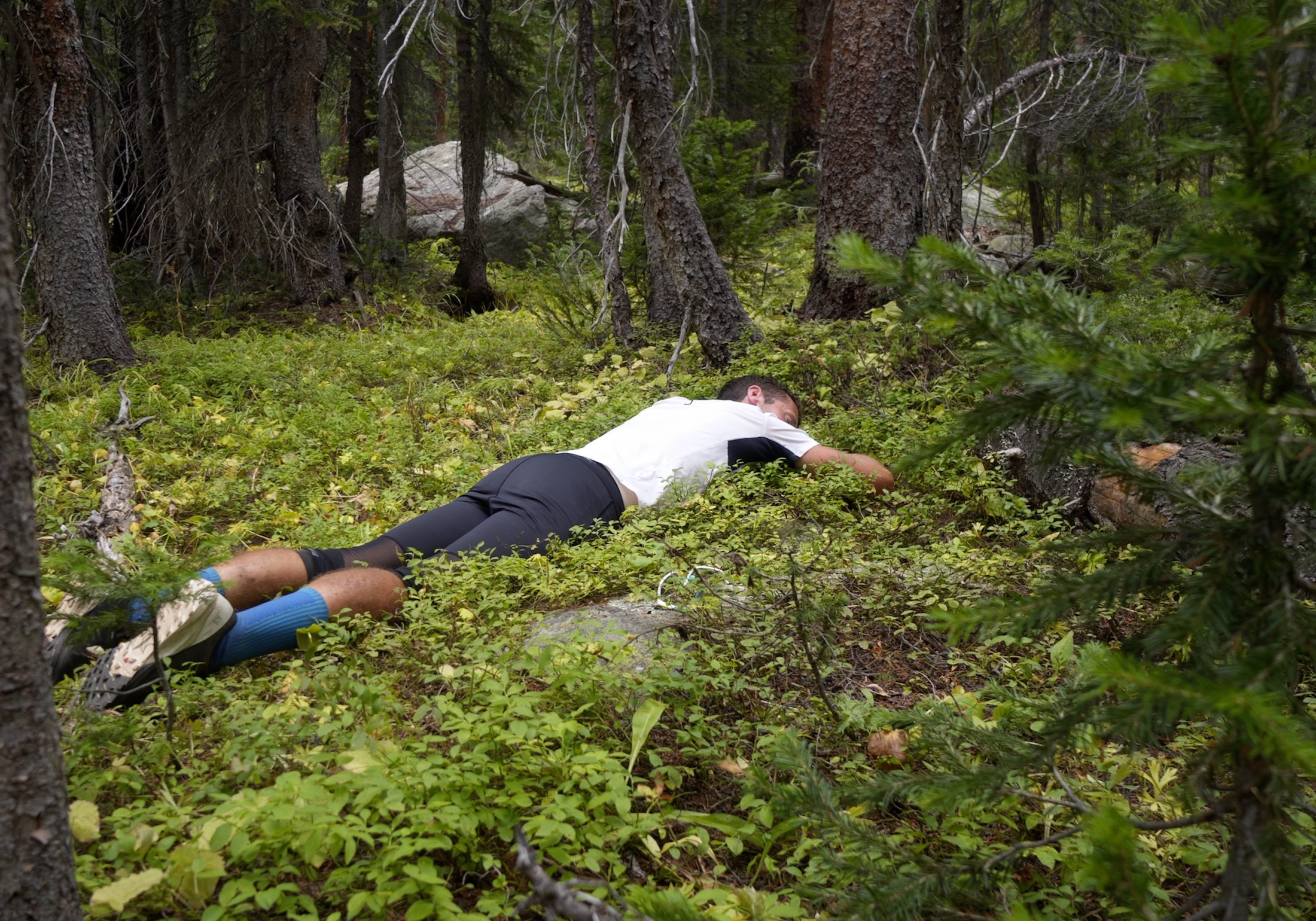 Mike McKnight trail nap