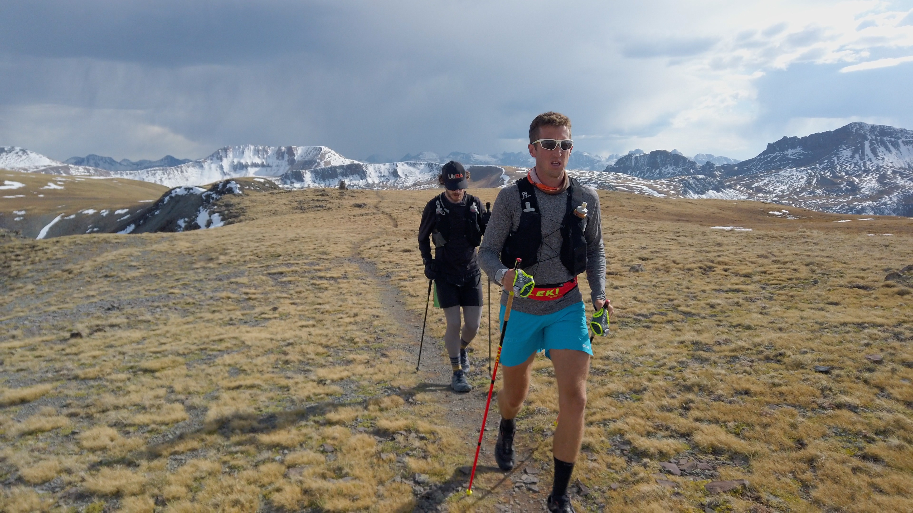 Mike McKnight on Colorado Trail
