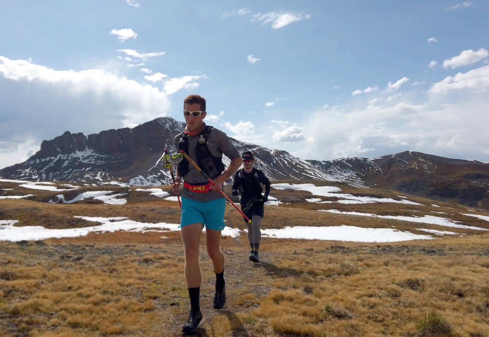 Mike mcknight colorado trail running east